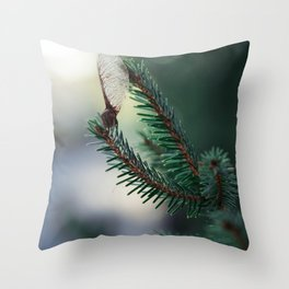 Stand there tall. Throw Pillow