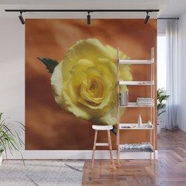 yellow rose Wall Mural