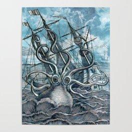 Sea Monster Poster