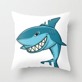 Weekend Seal Shark Funny Food Sea Gift Throw Pillow