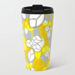 Leafs in Yellow Travel Mug