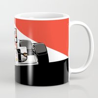 senna Mugs featuring Ayrton Senna x McLaren by Sean Kane Design