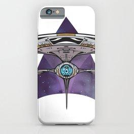 UFO spaceship iPhone Case