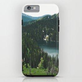SIAMESE LAKES MONTANA iPhone Case