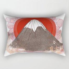 Mount Fujiyama Rectangular Pillow