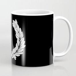 Laurel Half Tone Coffee Mug