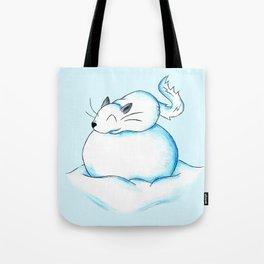 Chinchilla Snowball Tote Bag