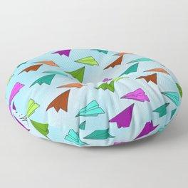 Paper Fliers Floor Pillow