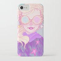 luna lovegood iPhone & iPod Cases featuring Luna Lovegood by Thais Magnta Canha