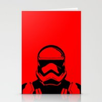 trooper Stationery Cards featuring Trooper  by Rabassa