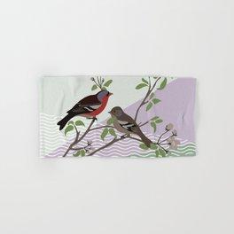 loving chaffinches Hand & Bath Towel
