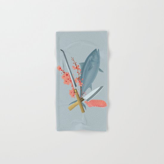 sushi chef Hand & Bath Towel