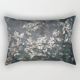 Wild Cherry Blossom Rectangular Pillow