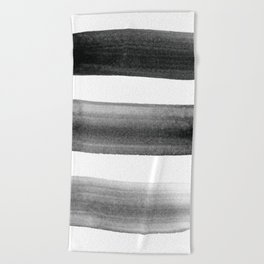 Three Brushes Beach Towel