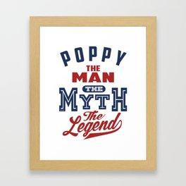 Gift for Poppy Framed Art Print