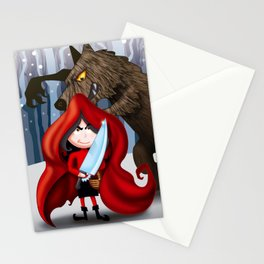 SHE WANTS A FUR COAT Stationery Cards