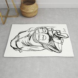 Graphic Pose Rug