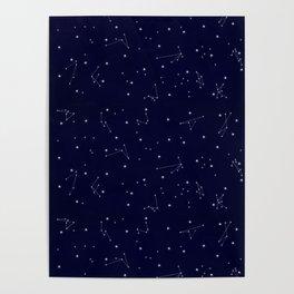 Astres / Stars / Luminary / Night Sky / Stars starry sky Poster