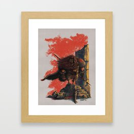 Romulus Triumphant Framed Art Print