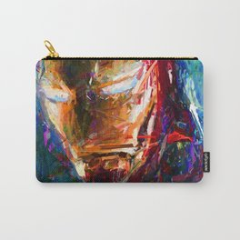 BRUSH STROKE IRONMAN Carry-All Pouch