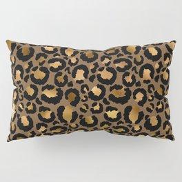 Leopard Metal Glamour Skin Pillow Sham