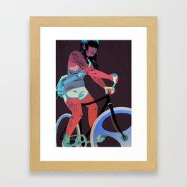 Bicycles & Tattoos (4) Framed Art Print