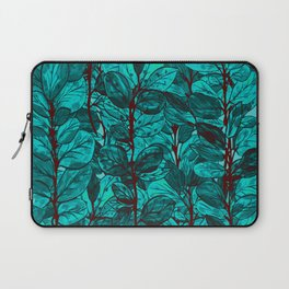 abstract ramas azules Laptop Sleeve