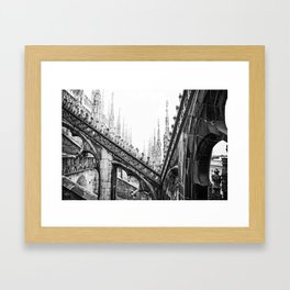 Spires Framed Art Print