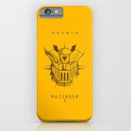 081 Mazinger Z Project iPhone Case