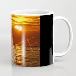 Love and peace sunset Coffee Mug