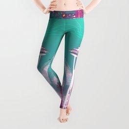 Cyberpunk Baphomet Leggings
