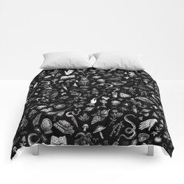 Salem Witch in Black Comforters