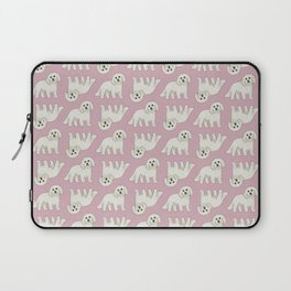Bichon Frise Dog Pattern  Laptop Sleeve