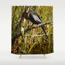 A Colorful Meal Shower Curtain
