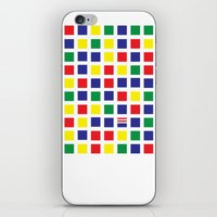 waldo iPhone & iPod Skins featuring Square's Waldo by Jonah Makes Artstuff
