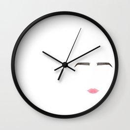 Delicateness Wall Clock