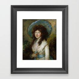 "Thomas Gainsborough ""Miss Catherine Tatton"" Framed Art Print"