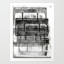 be kind, rewind Art Print