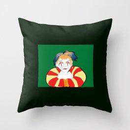 Kefka Throw Pillow