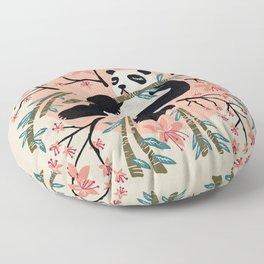 Panda Vibes – Pink & Cream Palette Floor Pillow