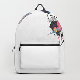 Uncorn Full Color Rainbow Wings Backpack