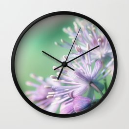 Rue close up Wall Clock