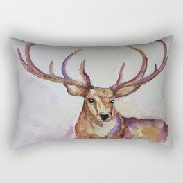 lake stag Rectangular Pillow
