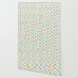 Large Pastel Love Hearts Wallpaper