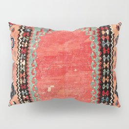 Sivas  Antique Cappadocian Turkish Niche Kilim Print Pillow Sham