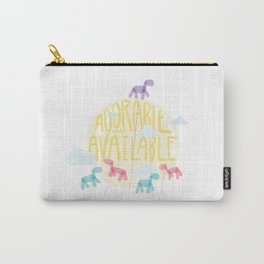Adorable and Available Carry-All Pouch