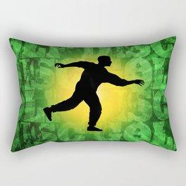 Disc Golfer Rectangular Pillow