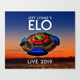 Jeff Lynne's ELO tour 2019 sule1 Canvas Print