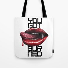 The Last Kiss Tote Bag