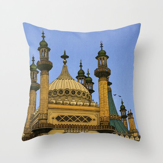 Opulence Throw Pillow